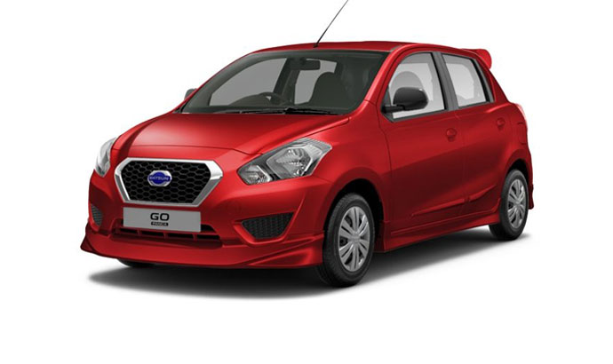 Datsun Go - Ruby Red