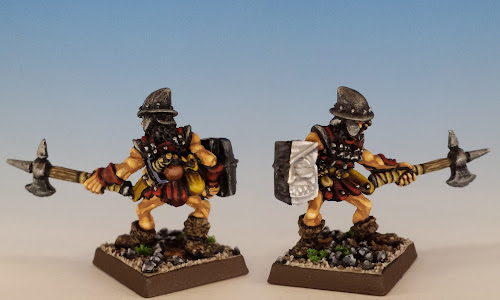 Ifan Bareshank, C01 Fighters, Citadel Miniatures (1986, sculpted by Jes Goodwin)