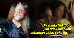 Thumbnail image for Lepas Lakukan 'Aksi Kunyit' Atas Katil, Pondan Ugut Teman Lelaki Sebar Video Lucah