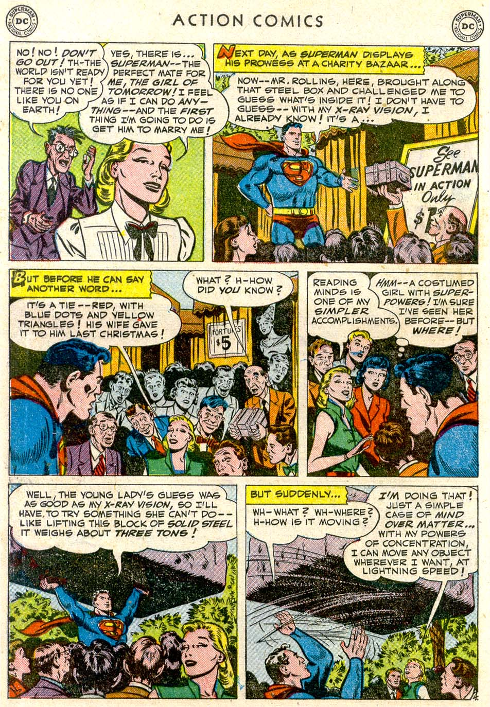 Read online Action Comics (1938) comic -  Issue #163 - 5