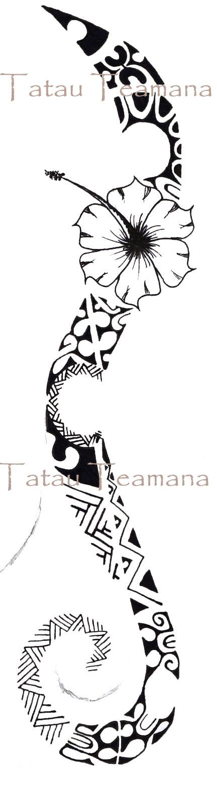 tatau tattoo tatouage de teamana. Black Bedroom Furniture Sets. Home Design Ideas