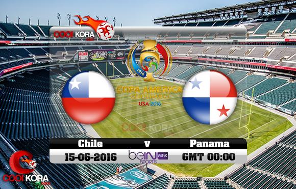 مشاهدة مباراة تشيلي وبنما اليوم 15-6-2016 كوبا أمريكا
