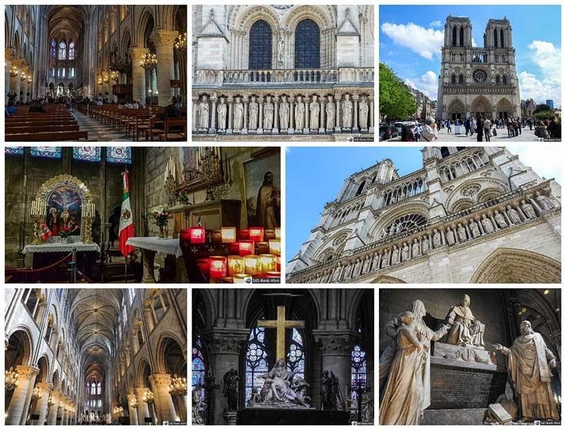 Catedral de Notre Dame - Diário de Bordo - 3 dias em Paris