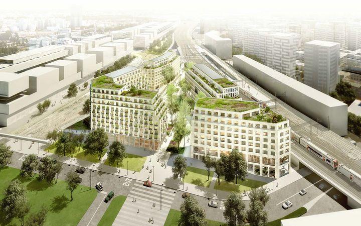 Centre social et culturel rosa parks un nouveau quartier - Bureau de change paris gare de l est ...