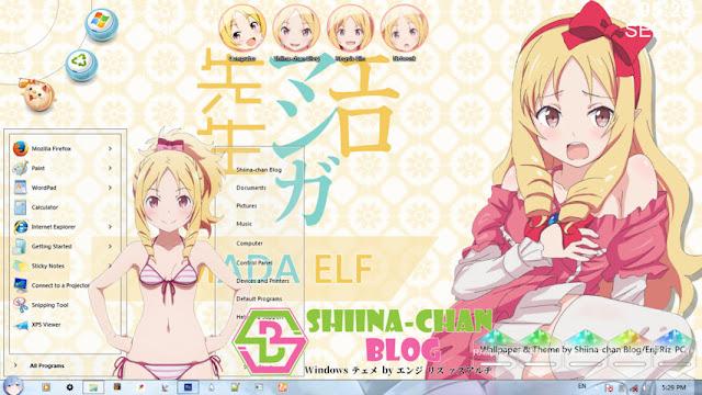 Eromanga-sensei - Yamada Elf Theme Win 7 by Enji Riz Lazuardi