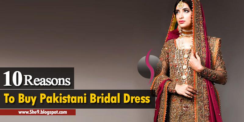 99864b24ba 10 Best Reasons to Purchase Pakistani Bridal Designer Dresses - She9 ...