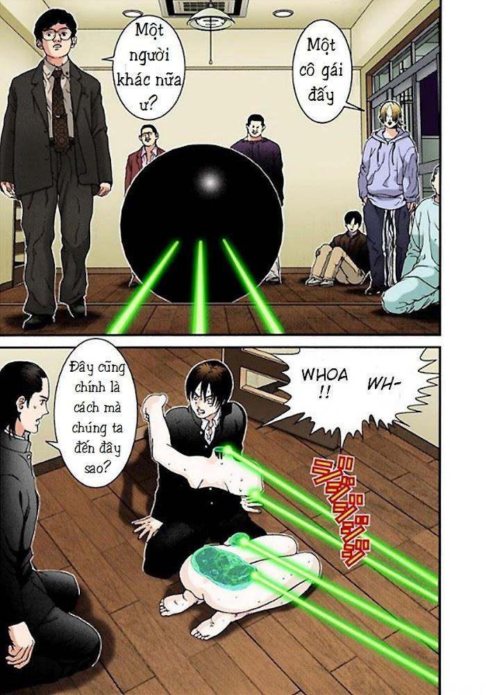Gantz Chap 02: Căn phòng bí ẩn trang 28