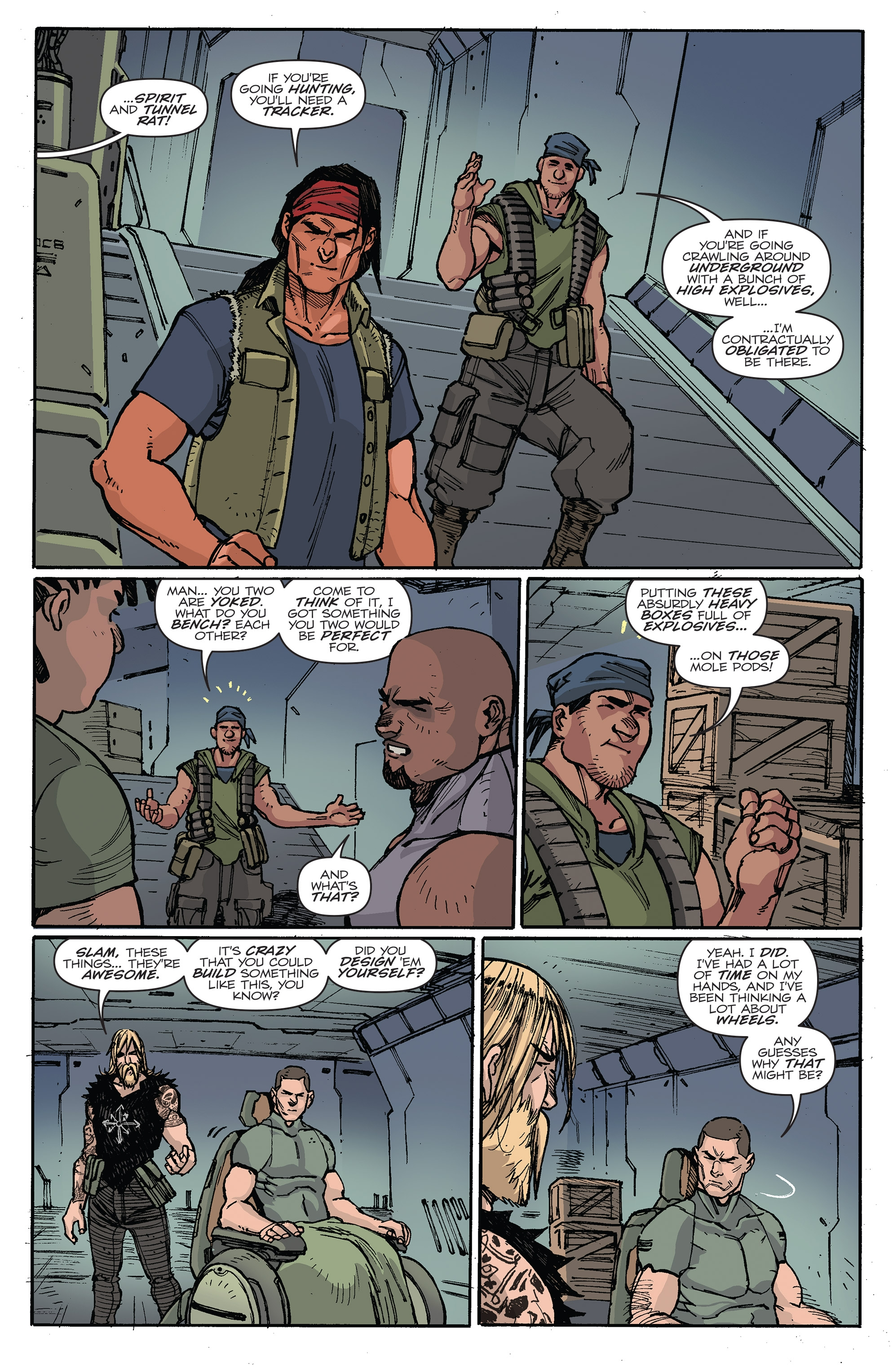 Read online G.I. Joe (2016) comic -  Issue #6 - 8