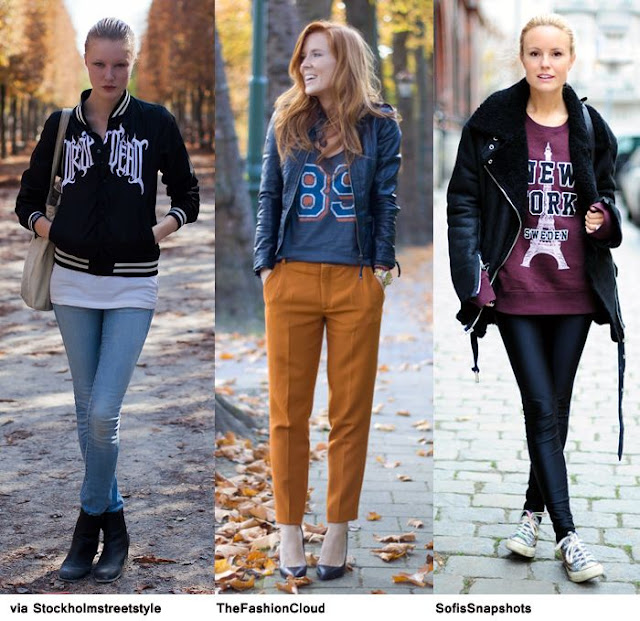sporty look style