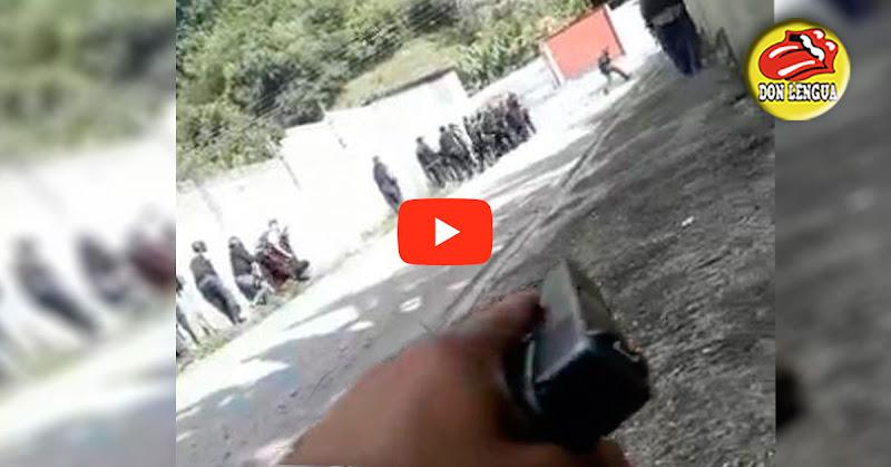 Así fue el tiroteo entre malandros uniformados contra malandros sin uniforme en La Guaricha