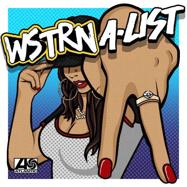 WSTRN - A-List - Single Cover