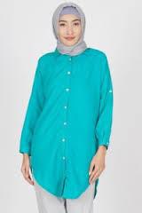 Model Baju Kemeja Wanita Muslim Modern
