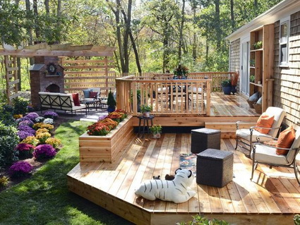 deck and patio ideas for small backyards on a budget 2