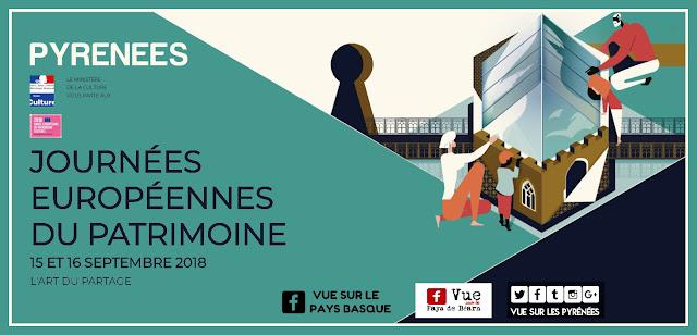 Journées Européennes du Patrimoine Pyrénées 2018