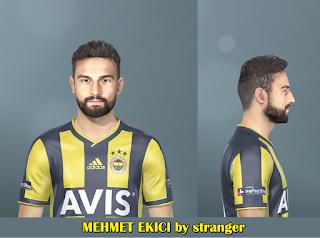 PES 2019 Faces Mehmet Ekici by Stranger