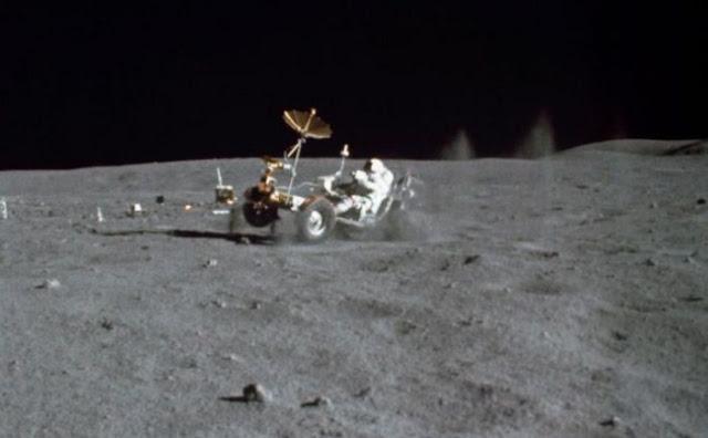 Bukan Hanya di Bumi Ternyata di Bulan Juga Banyak Sampah