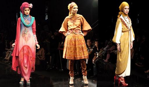 Fashionable Dengan Busana Gamis Muslimah