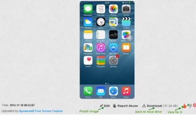 Cara Screenshot layar di iPhone 6
