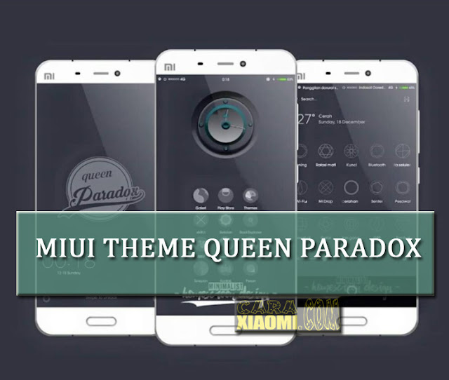 MIUI Theme Queen Paradox Mtz Update For Xiaomi