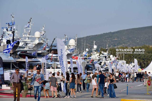Μεγάλα αφιερώματα στο Ναύπλιο από τον αθηναϊκό τύπο για το 5ο Mediterranean Yacht Show
