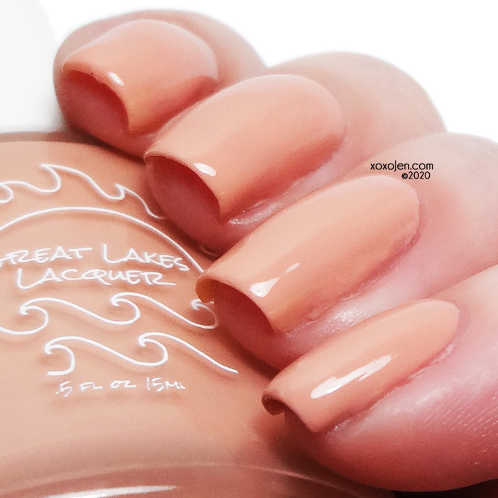 xoxoJen's swatch of Great Lakes Lacquer Love