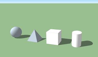 Circle, Triangle, Square Rectangle