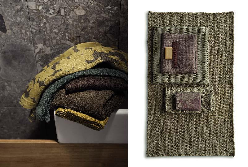 collezione autunno-inverno 2017/18 tessili bagno di Society Limonta
