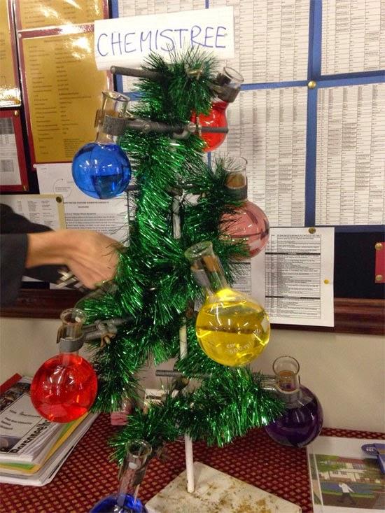 árvore de natal química