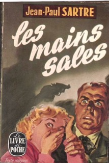 Les Main Sales, Jean-Paul Sartre, period jacket cover