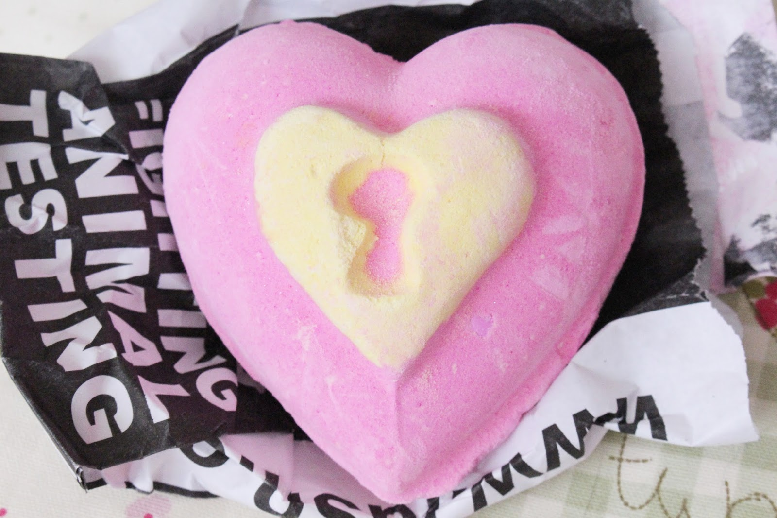 Lush Cosmetics Love Locket Review
