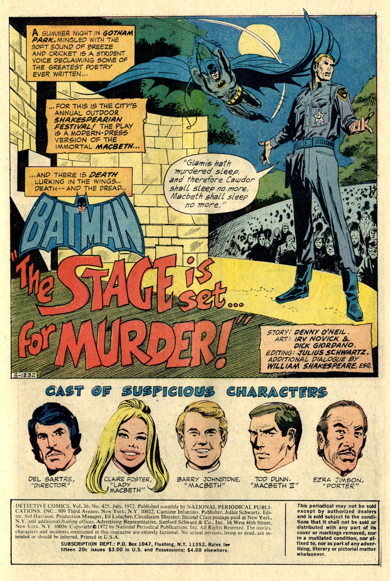 Detective Comics (1937) 425 Page 2