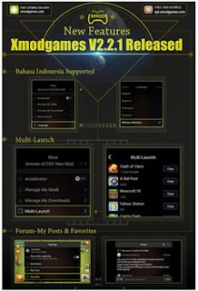 Aplikasi XModGames 2.2.1 Apk For Android