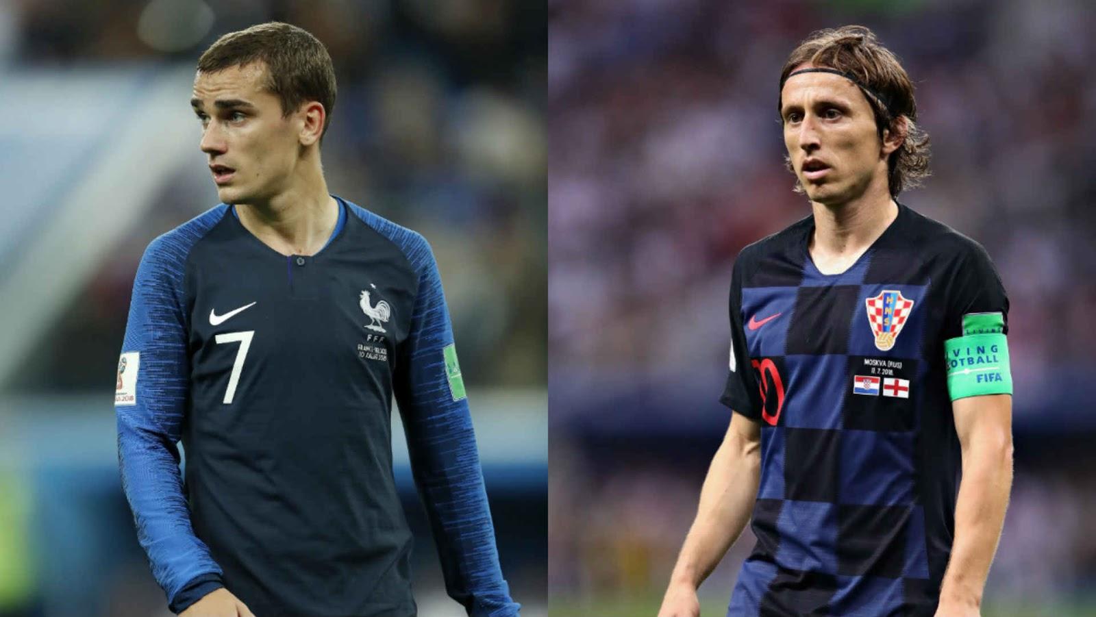 نهائي مونديال 2018 اليوم - مشاهدة مباراة فرنسا وكرواتيا