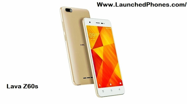 is launched inwards Republic of Republic of India every bit the novel Lava shout out upwards Lava Z60s Android Go launched for photographic goggle box camera lovers