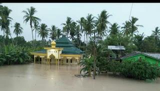 Banjir Kembali Menerpa Kalianda dan Penengahan