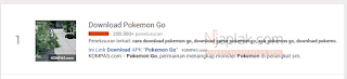 "Keren, Kata Kunci ""Pokemon GO"" Menjadi yang Paling di Cari di Google"