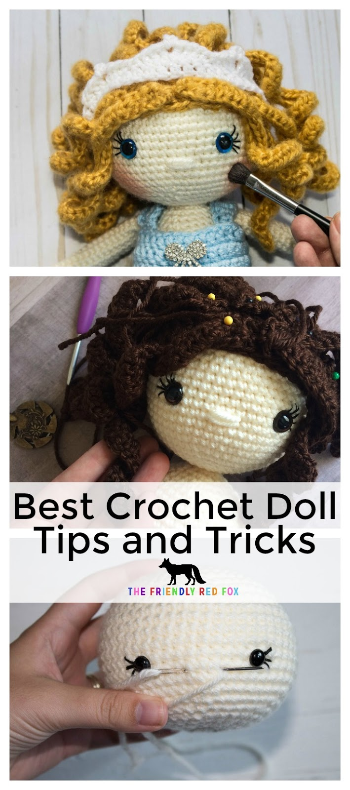 The Most Beautiful Amigurumi Doll Free Crochet Patterns | Kawaii ... | 1600x709