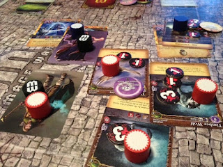battle of Mages in Mage Wars game