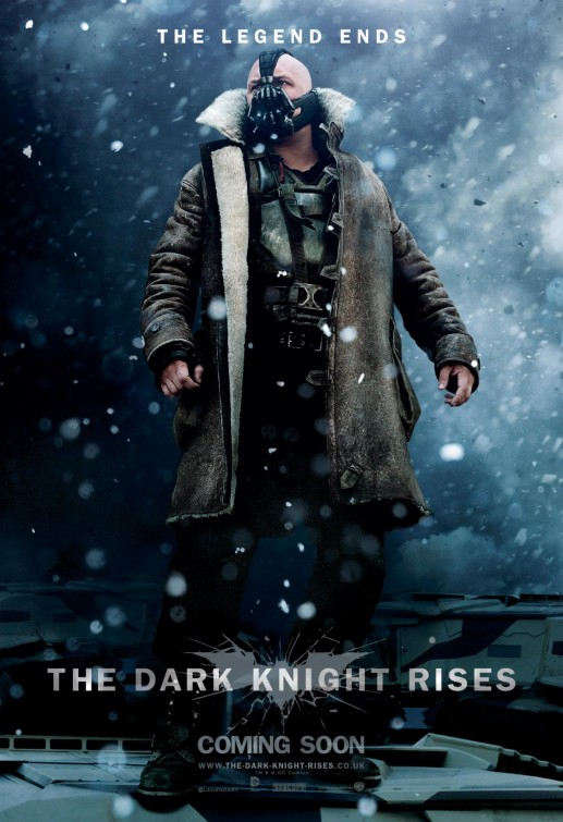 Bane Dark Knight Rises movie poster