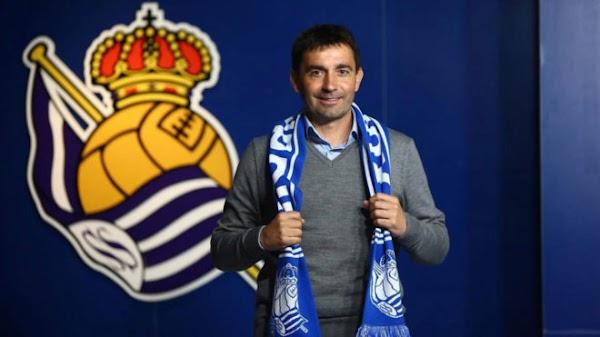 Oficial: La Real Sociedad firma al técnico Garitano