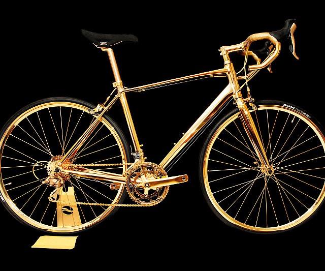 bicicletas de oro, que no te la roben