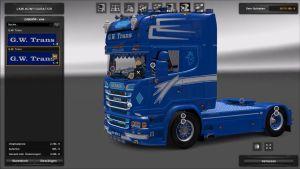 Truck - Scania G.W Trans