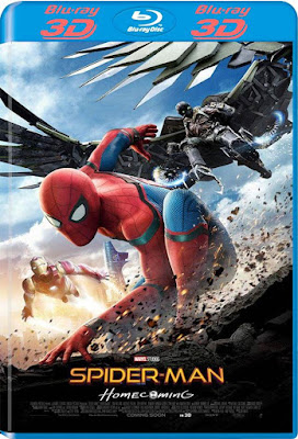 Spider-Man Homecoming 2017 BD 25 3D Latino