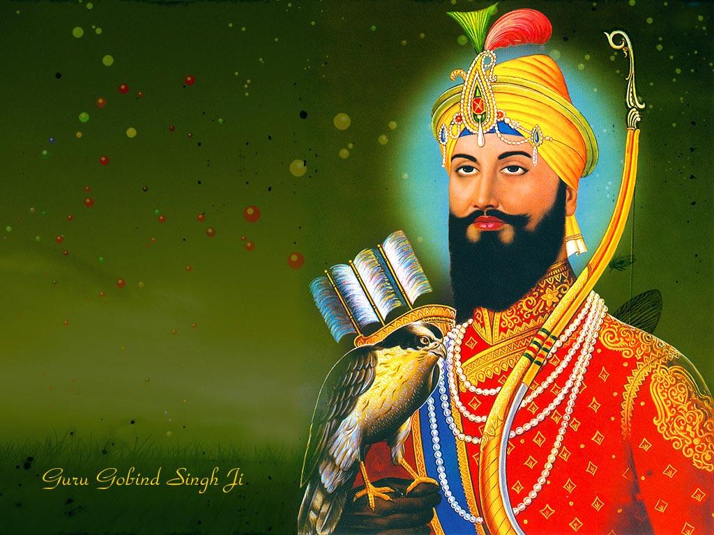 Guru Gobind Singh Ji Shri Gobind Singh Ji Hindu God Wallpapers