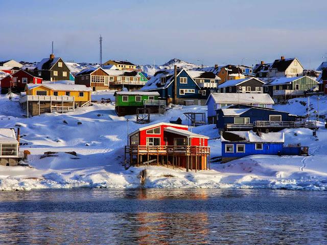Ilulissat é a terceira maior cidade da Groenlândia, ilha gélida de proporções continentais que chegou a ser coberta de vegetação na Idade Média.