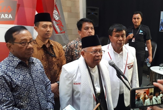 Barnus Berkeyakinan Pasangan Jokowi-Ma'ruf Terbaik Bagi Bangsa