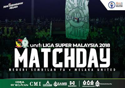 Live Streaming Negeri Sembilan vs Melaka Liga Super 28.7.2018