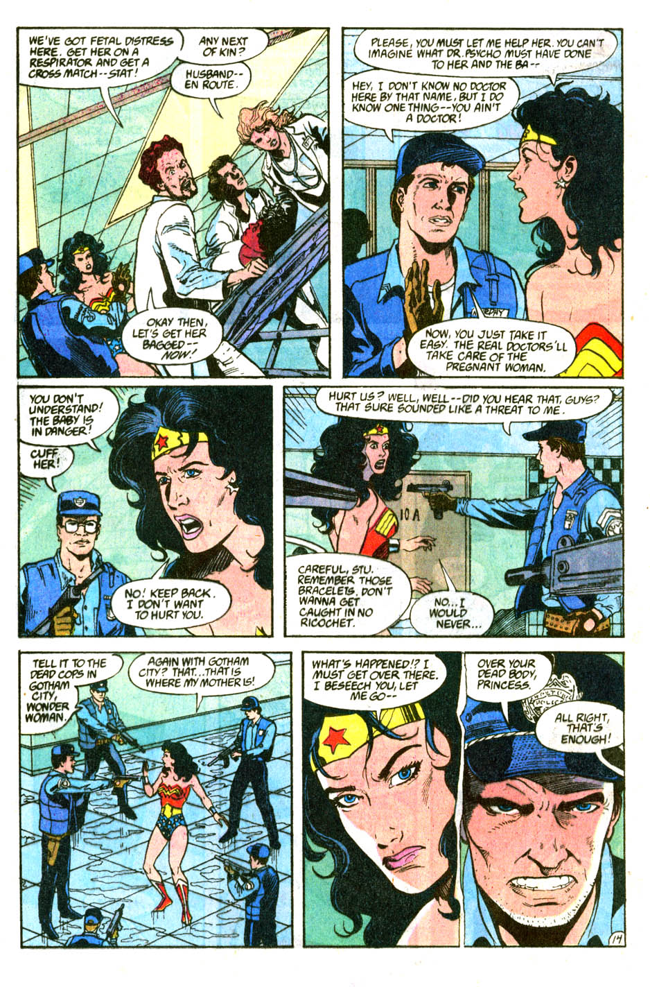 Read online Wonder Woman (1987) comic -  Issue #56 - 16