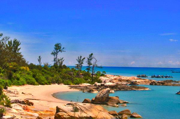 Gambar Pantai Tikus Di Bangka Belitung