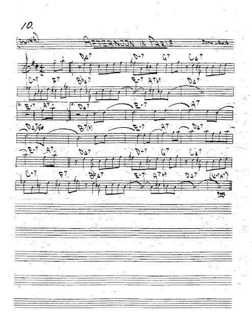 Partitura Trompeta John Levis
